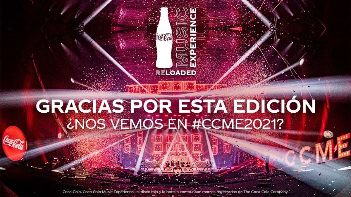 Mucha música, tus artistas favoritos y tú al otro lado de la pantalla: así fue Coca-Cola Music Experience Reloaded