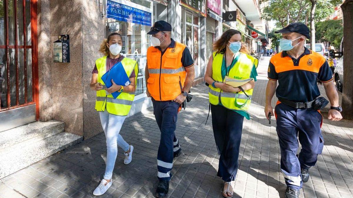 Restricciones en toda la ciudad y equipos de control domiciliario: así consiguió frenar Zaragoza la segunda ola