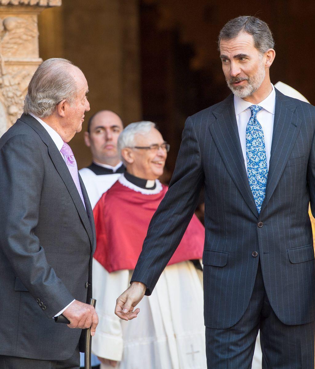 Felipe y Juan Carlos, en Mallorca
