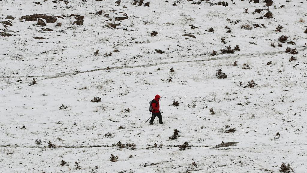 Nieve temporal Odette