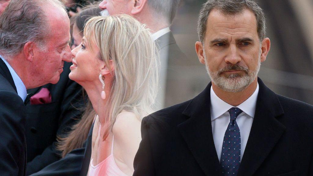 """La reacción de Felipe al enterarse del compromiso entre Corinna y Juan Carlos: """"Pobre mamá"""""""