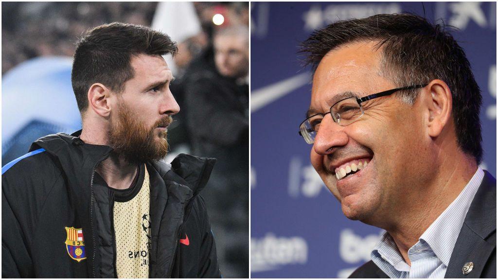 """Bartomeu no tiene ninguna intención de dimitir pese a la rajada de Messi y la moción de censura: """"Saldré en las elecciones"""""""