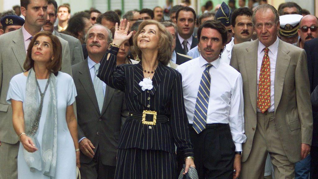 20200925 NAC AZNAR Y REYES EN CUBA 15 NOV 1999