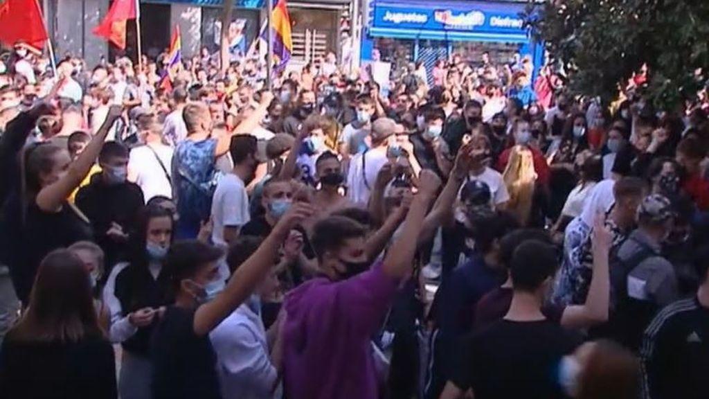 Una sonora pitada contra Ayuso recorre los barrios del sur de Madrid