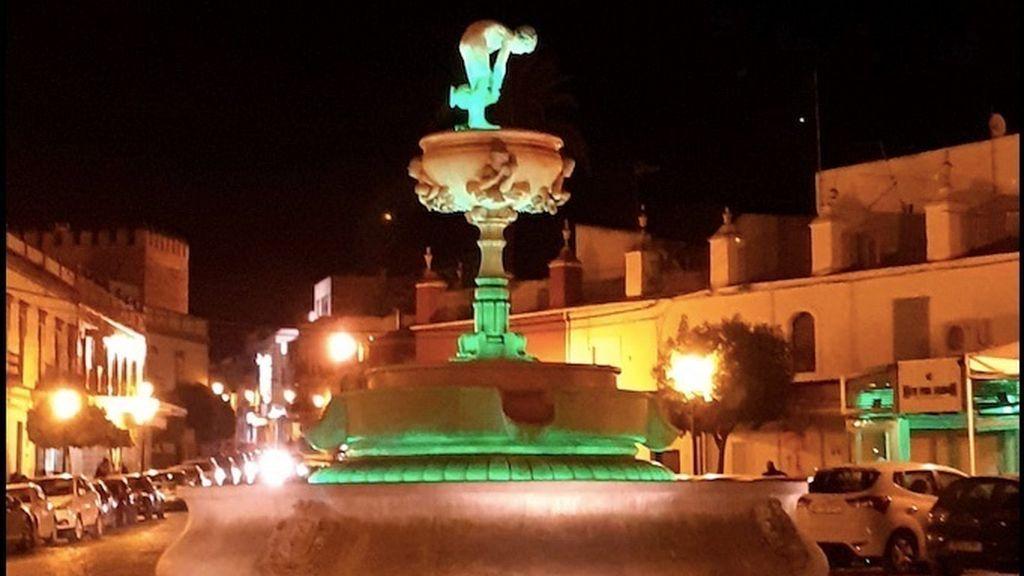 Fuente de la Plaza de la Constitución de Marchena