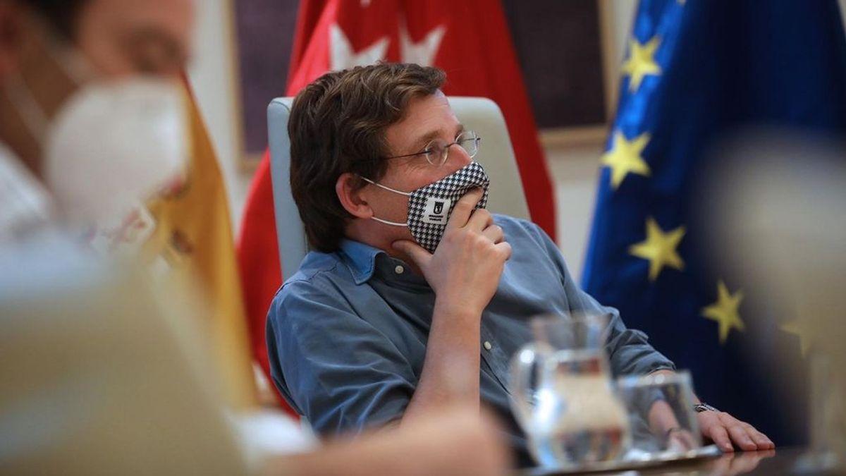 """Almeida considera un """"error"""" intervenir Madrid y defiende la gestión de Ayuso"""