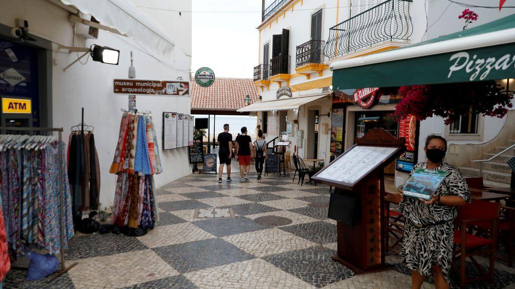 Albufeira, en Portugal