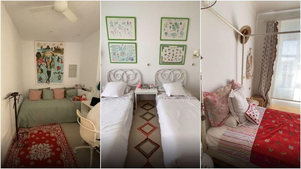 Los dormitorios de los más pequeños de la casa