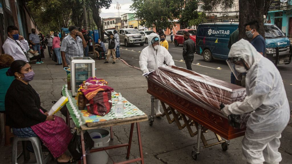 Guatemala supera los 90.000 contagios de covid-19 y registra 3.229 muertes