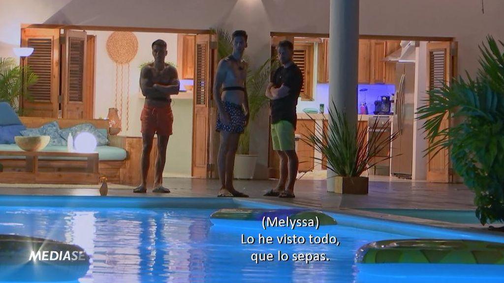 Melyssa se fuga de Villa Playa para encarar a Tom, próximamente en 'La isla de las tentaciones'