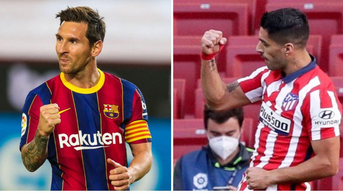 La promesa que se hicieron Luis Suárez y Messi antes de despedirse: celebrarían los goles de la misma forma