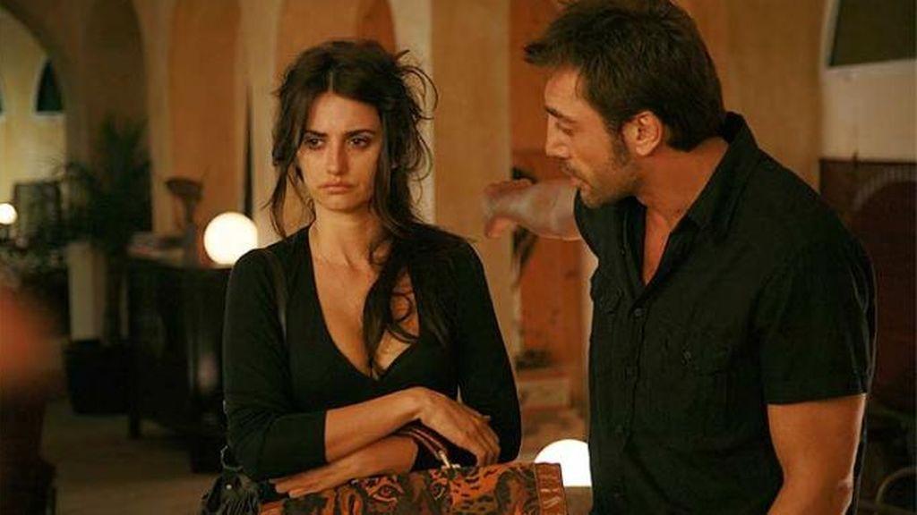 Luego, volvieron a verse las caras en el set de 'Vicky Cristina Barcelona', donde saltaron chispas.