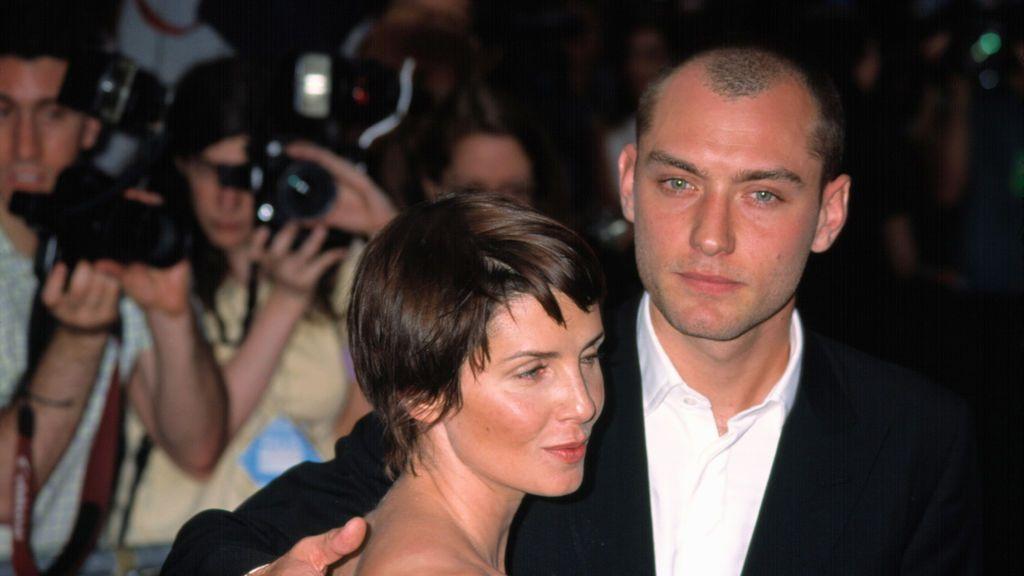 Jude Law y Sadie Frost en 2001