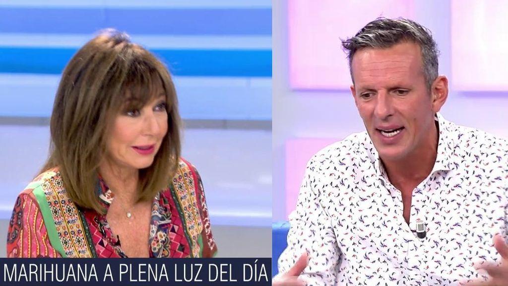 Joaquín Prat explica a Ana Rosa cómo se obtiene la marihuana