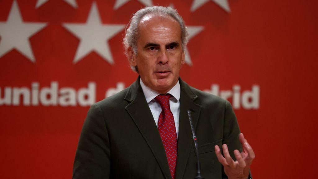 """Escudero, sobre el cierre de Madrid: """"Que el Gobierno no tenga la tentación de pensarlo"""""""