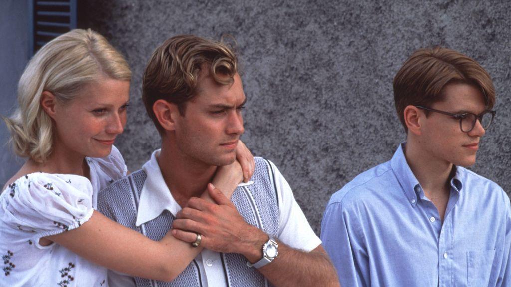 Gwyneth Paltrow, Jude Law y Matt Damon en 'El talento de Mr. Ripley'