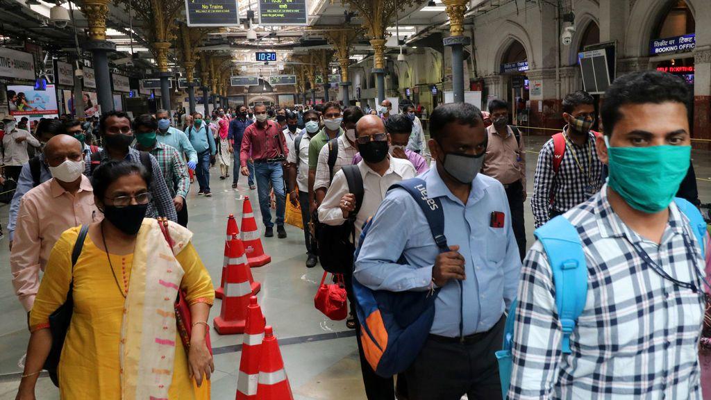 India supera los seis millones de contagios desde el inicio de la pandemia