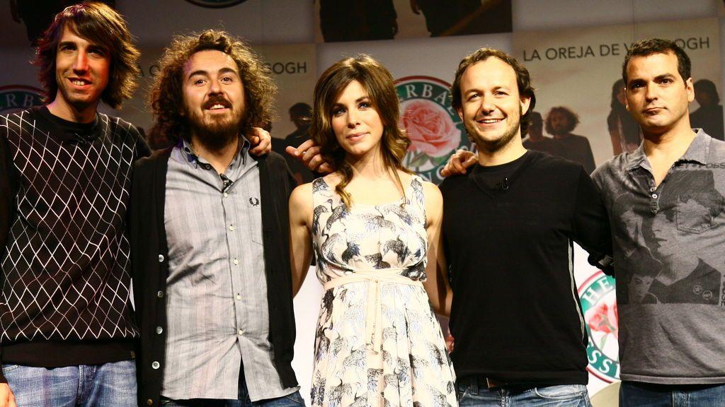 Presentación de Leire como nueva vocalista de 'La Oreja de Van Gogh'