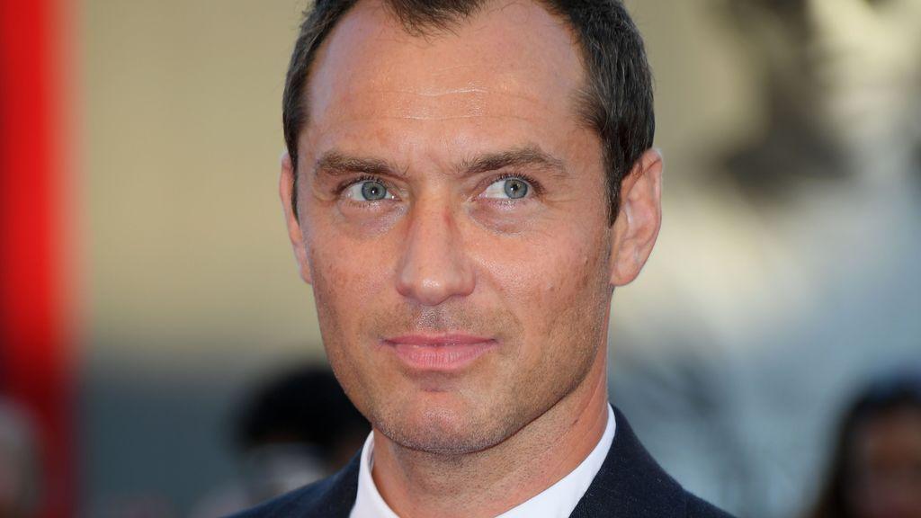Jude Law en la presentación de 'The Young Pope'