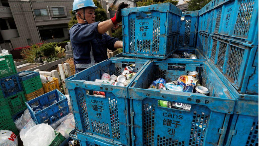 Los JJOO de Tokio logra acumular 24,5 toneladas de plástico para fabricar sus podios reciclados
