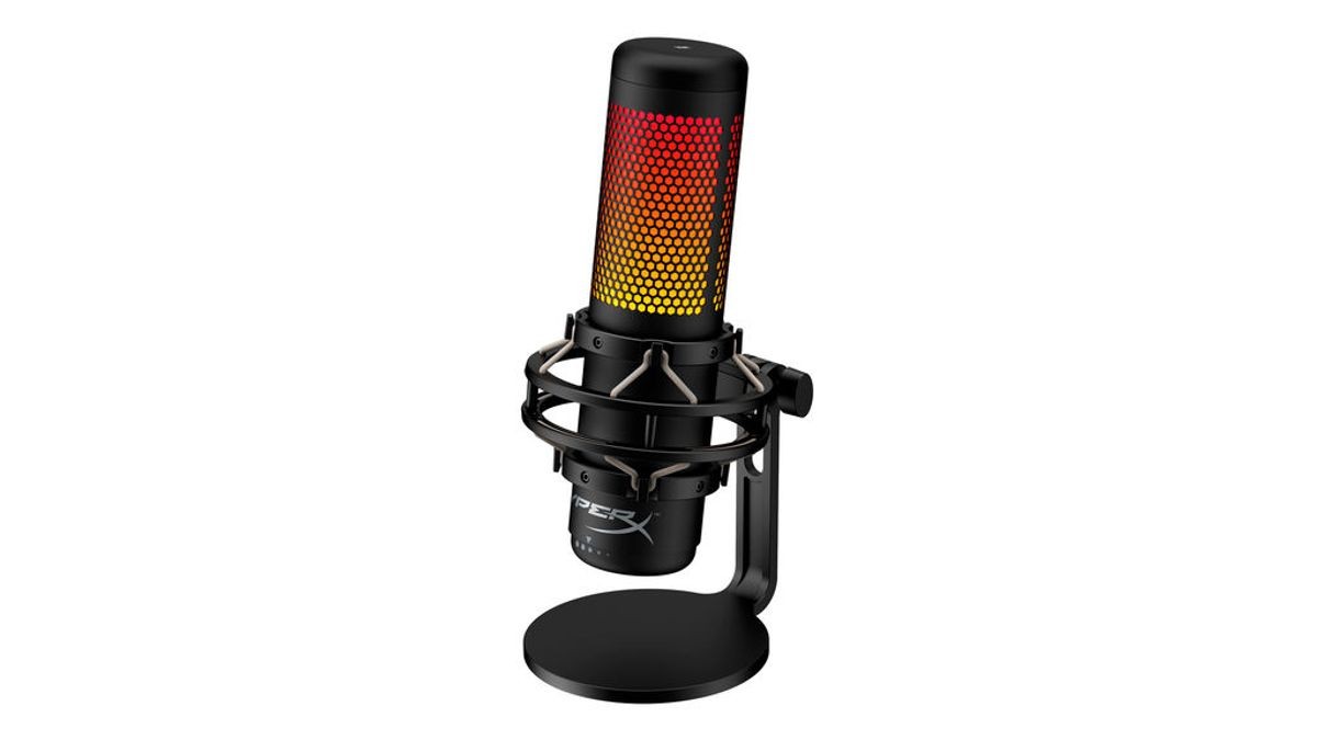 HyperX lanza el micrófono USB QuadCast S con iluminación RGB
