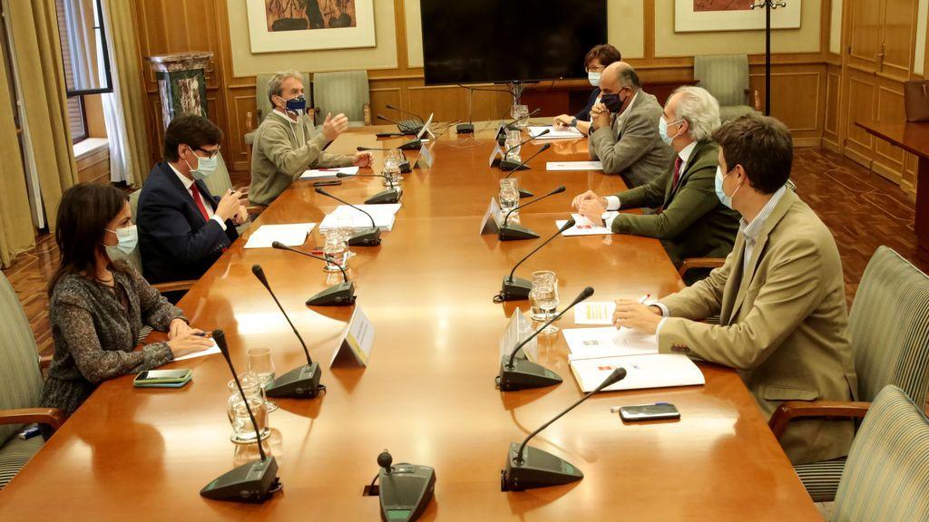 Reunión del Gobierno central y la Comunidad de Madrid