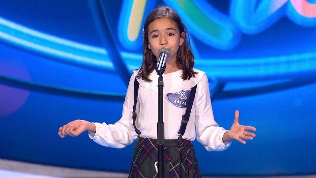 """La dulzura de Silvia conquista con 'Killing me softly': """"Ya eres cantante profesional"""""""