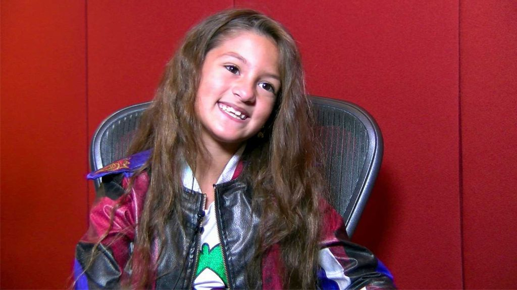 Soleá canta 'Palante', el tema de España en Eurovisión Junior 2020