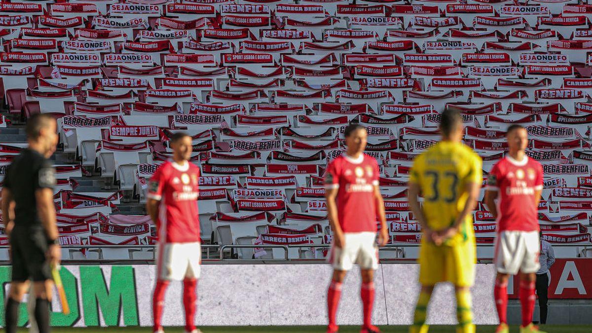 El público vuelve a la Liga portuguesa con 1.000 asistentes en una prueba piloto