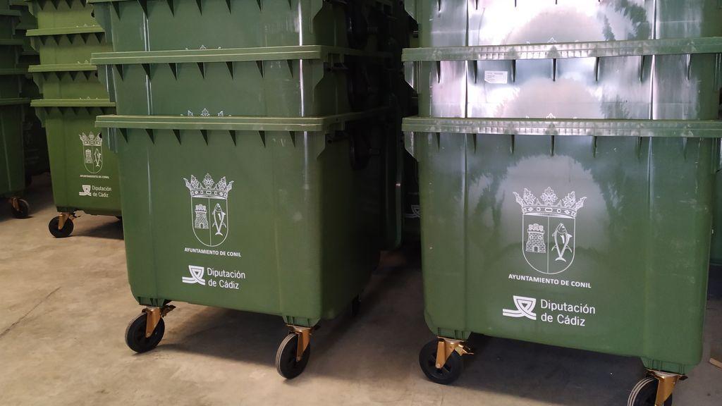 Contenedor de residuos