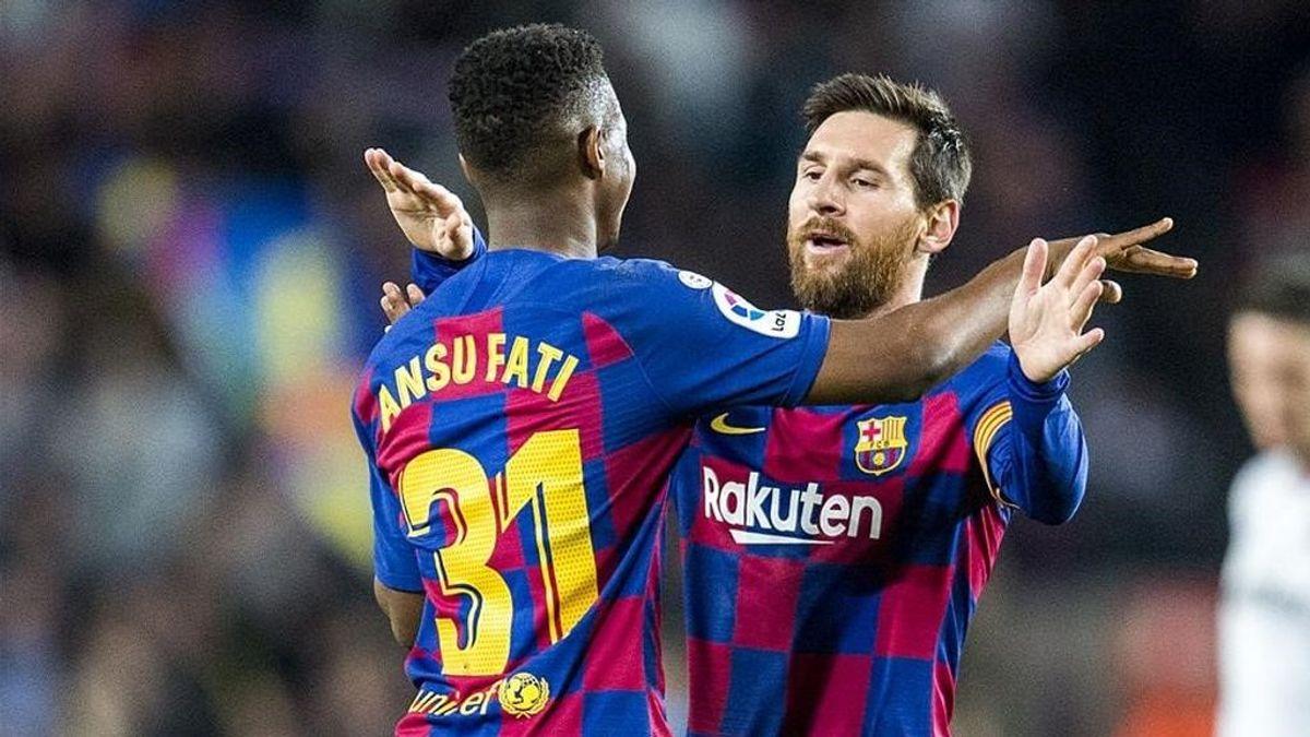 Más Messi y menos Ansu Fati
