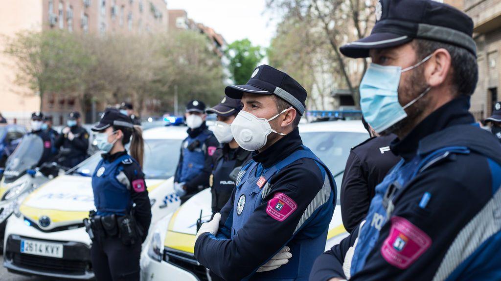 La Policía Municipal de Madrid ha puesto 13.000 sanciones por no llevar mascarilla en dos meses