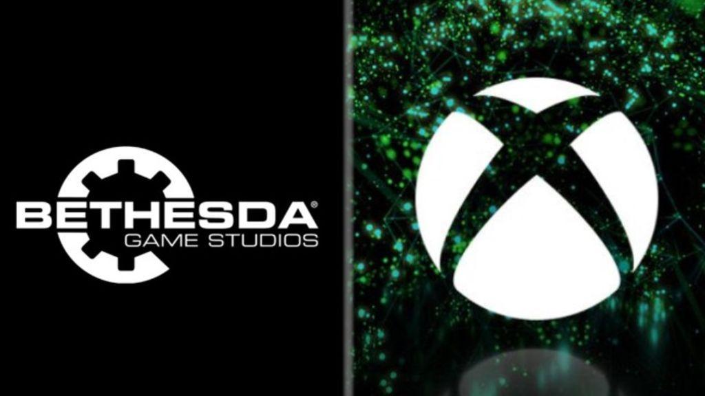 Logos de Bethesda y Xbox