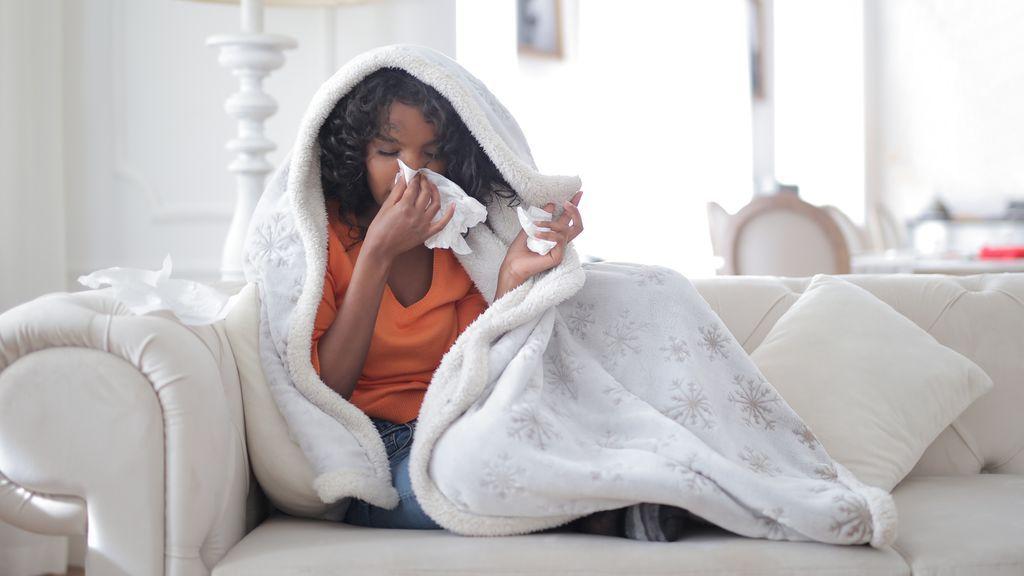 La gripe suele afectar al sistema respiratorio.