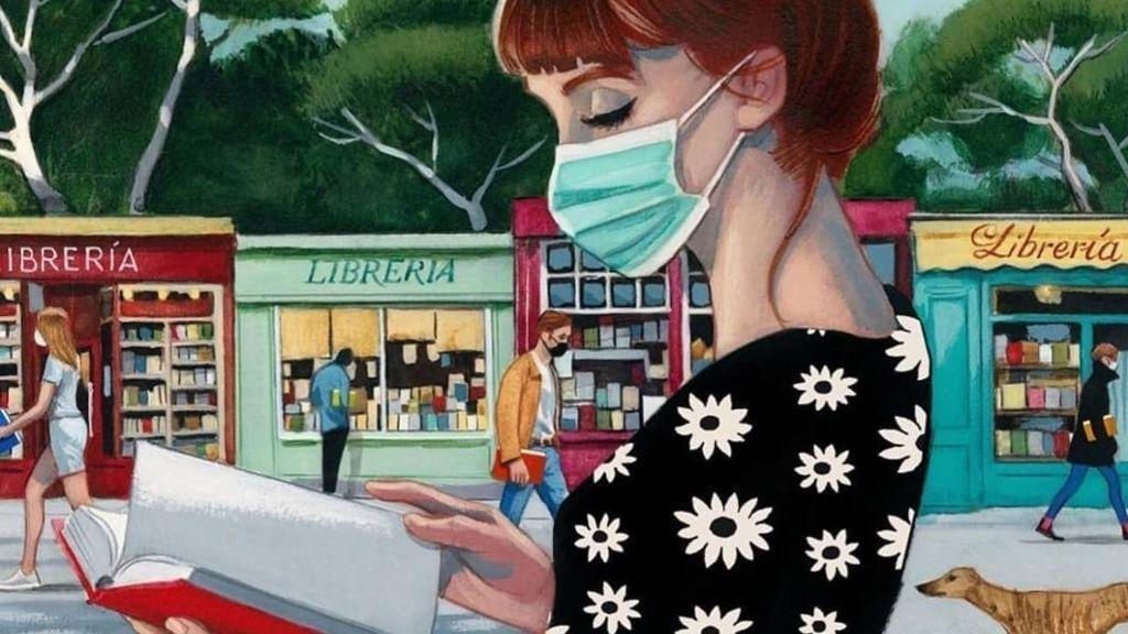 Carta de amor a Madrid: una librera triunfa con su mensaje optimista en medio de las dudas por el confinamiento