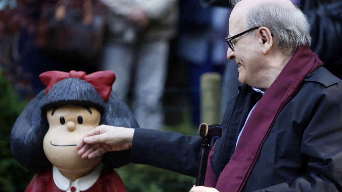 Los mensajes de Mafalda sobre la felicidad, la vejez o el tiempo para honrar la memoria de Quino