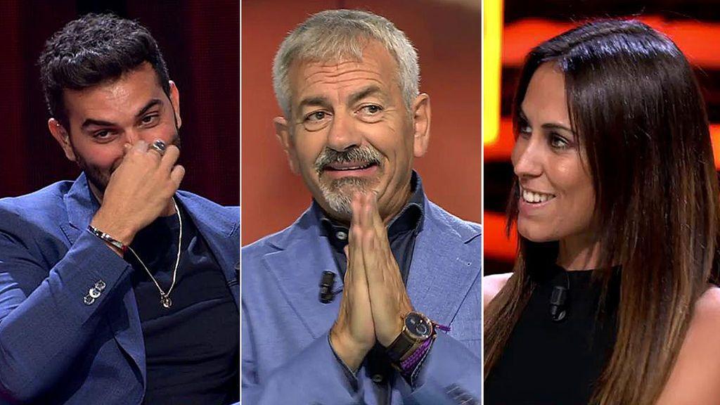 El 'zasca' subido de tono de Carlos Sobera a Suso y Raquel