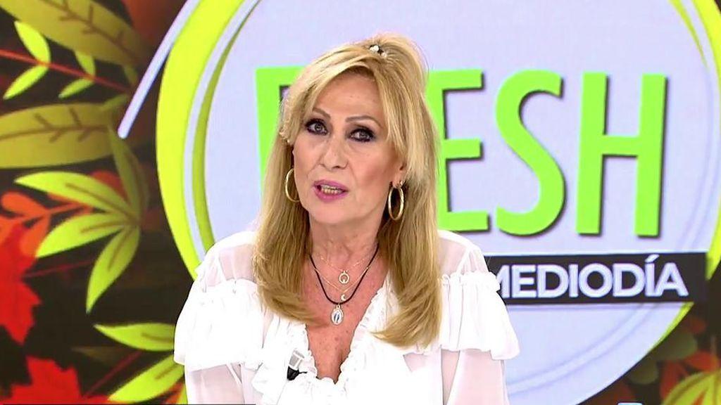 Rosa Benito opina sin tapujos sobre los supuestos problemas económicos de Rocío Carrasco