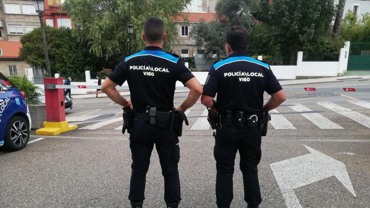 Un negacionista intenta estrangular a un policía de Vigo que le exigía que se pusiera la mascarilla