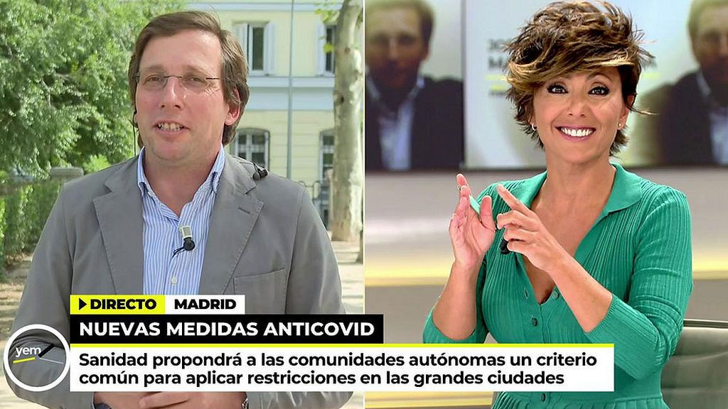"Sonsoles Ónega, Martínez-Almeida: ""Si usted me dice ""te espero"", yo aguanto"""