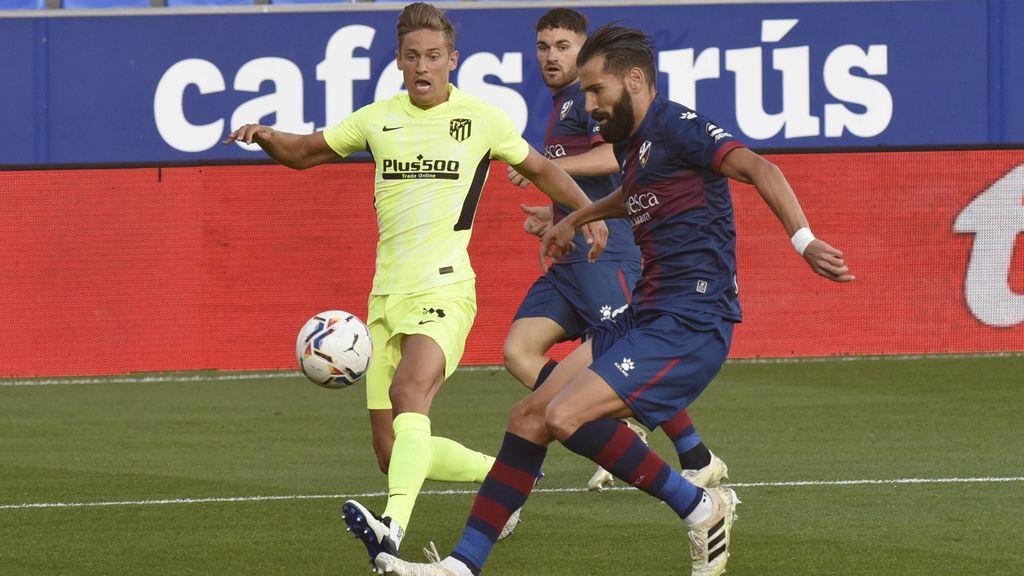 El Atlético de Madrid se atasca en El Alcoraz y no pasa del empate ante el Huesca (0-0)