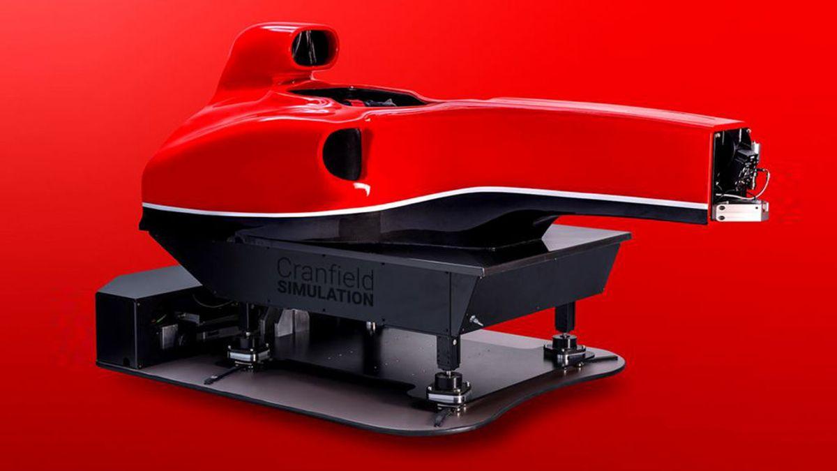 Cranfield F1: un simulador de lujo de Fórmula 1 para apasionados del motor