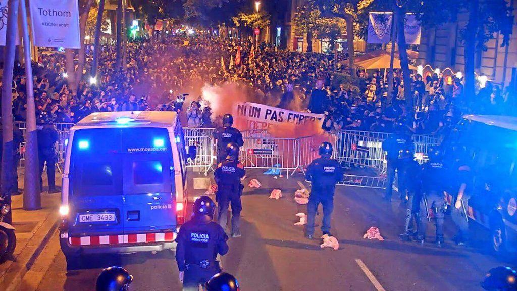 protestas inhabilitacion torra