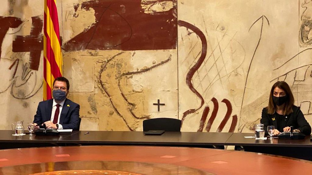 """Aragonès, sobre sustituir a Torra tras las elecciones: """"Nos vemos capaces de conseguir lo que queramos"""""""