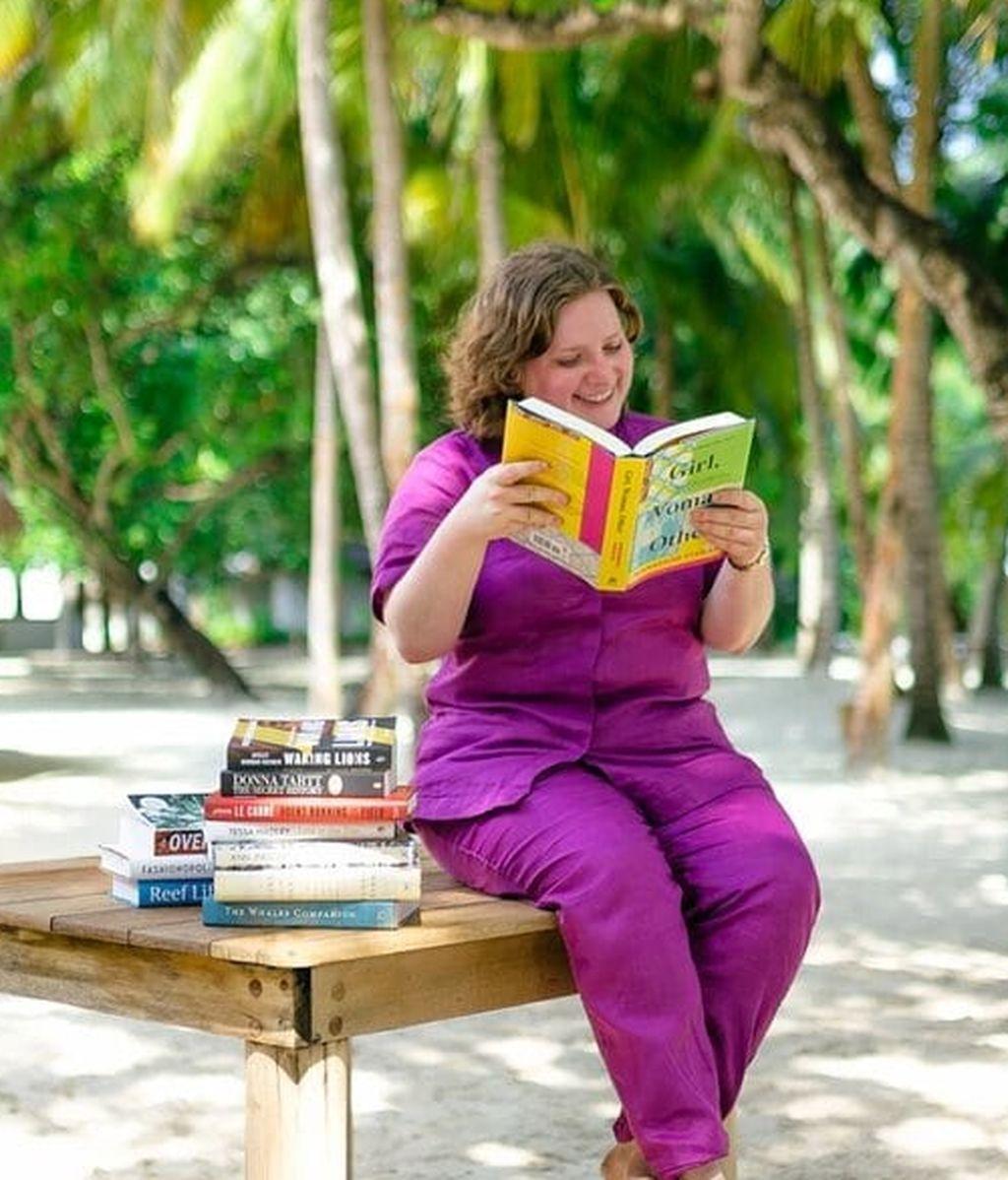 Librera en las Maldivas