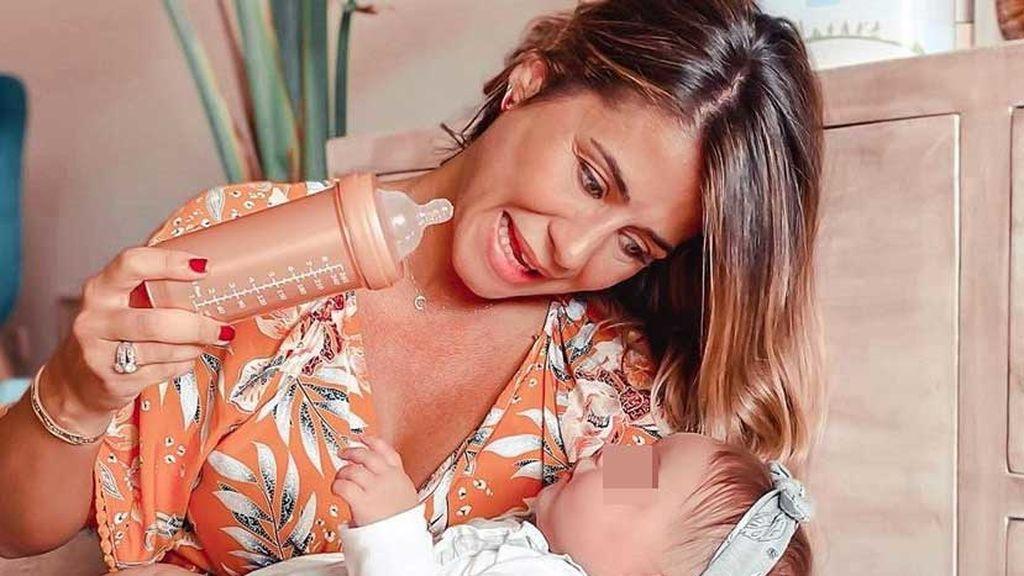 """Elena Tablada desvela sus problemas con la lactancia materna: """"Sentía que no le estaba dando lo que necesitaba"""""""