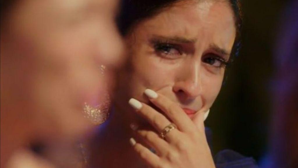 """Las redes mueren de amor con Inma y Ángel: """"Ay... se me ha metido algo en el ojo"""""""
