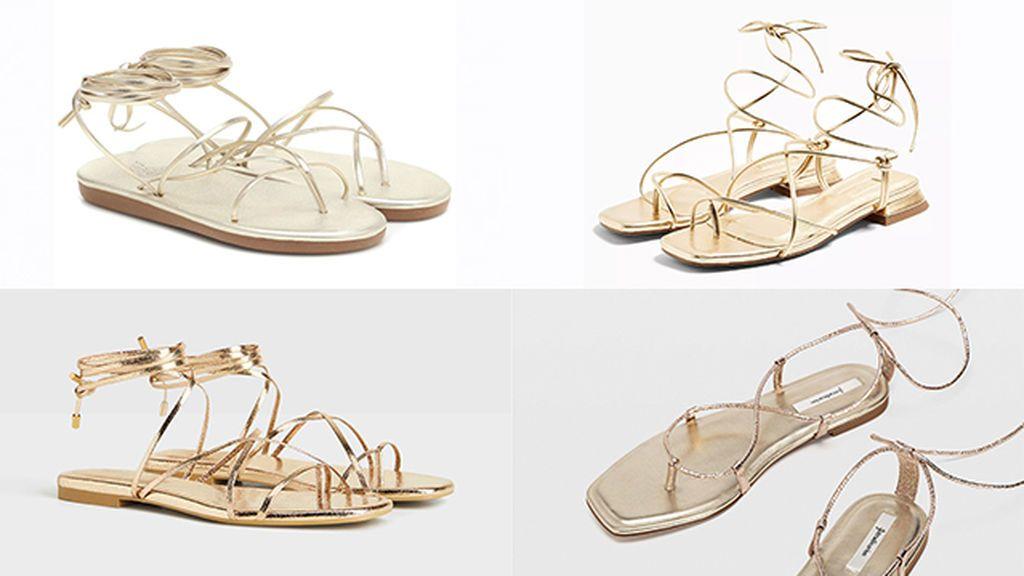 06-sandalias Ancient Greek Sandals, Topshop, Bershka, Stradivarius