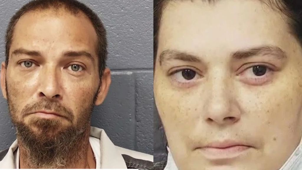 Los padres de Kaitlyn tras ser detenidos