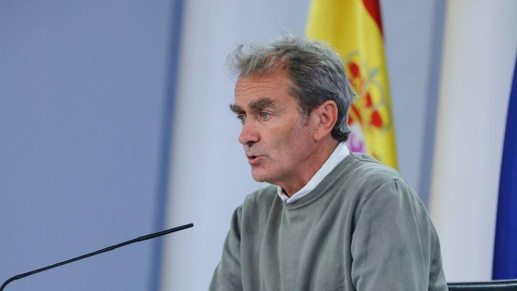 """Fernando Simón: """"Las medidas de Madrid no funcionaron y por eso hemos tenido que tomar otras"""""""